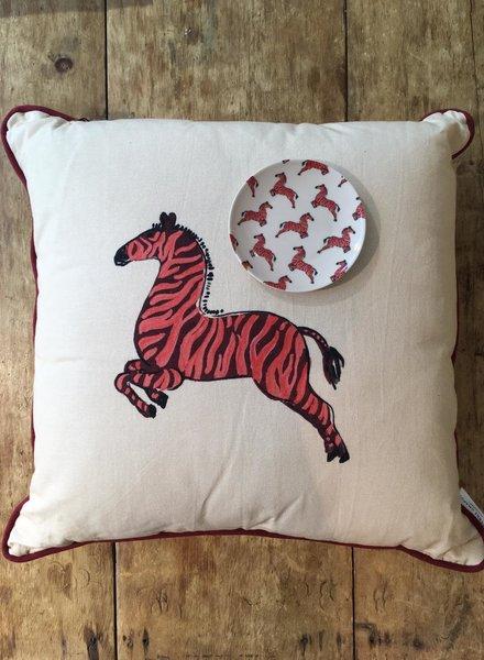 Fabienne Chapot Cushion Zebra 50x50cm