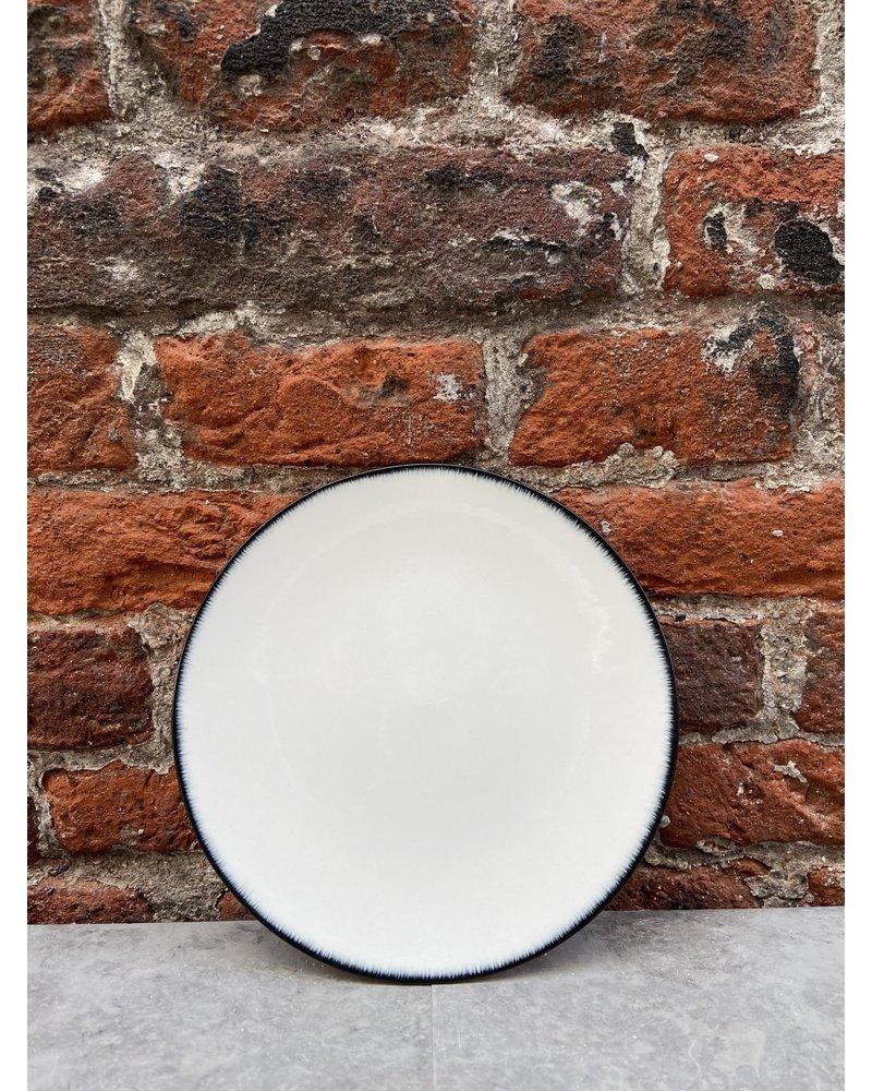 Serax Ann Demeulemeester Plate 14 cm 'Off White/Black' v.1