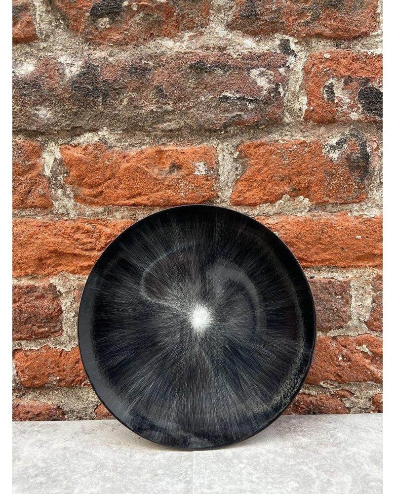 Serax Ann Demeulemeester Plate 14 cm 'Off White/Black' v.6