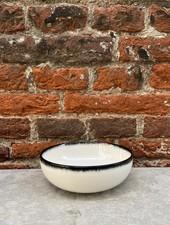 Serax High Plate 13 cm 'Off White/Black' v.A