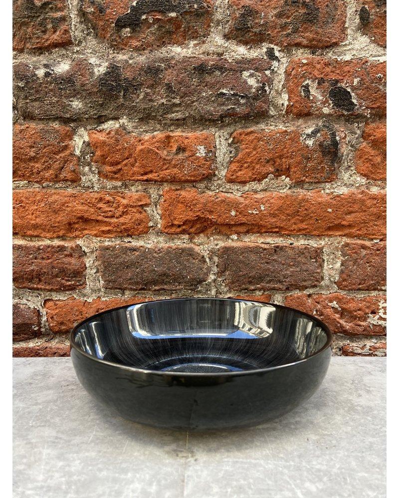 Serax Ann Demeulemeester High Plate 15,5 cm 'Off White/Black' v.C