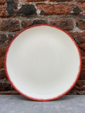 Serax Plate 24 cm 'Off White/Red' v.2