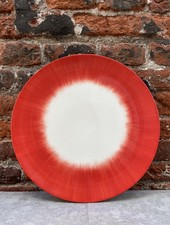 Serax Plate 24 cm 'Off White/Red' v.5