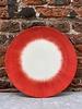 Serax Ann Demeulemeester Plate 24 cm 'Off White/Red' v.5