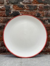 Serax Plate 28 cm 'Off White/Red' v.2
