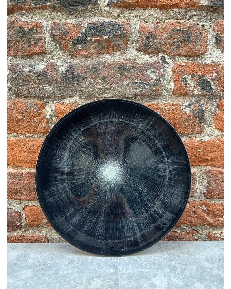 Serax Ann Demeulemeester Plate 17,5 cm 'Off White/Black' v.6