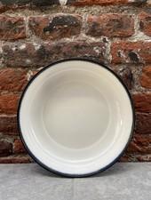 Serax High Plate 18,5 cm 'Off White/Black' v.A