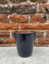 Serax Goblet Conic M 'Dark Blue/Rust'
