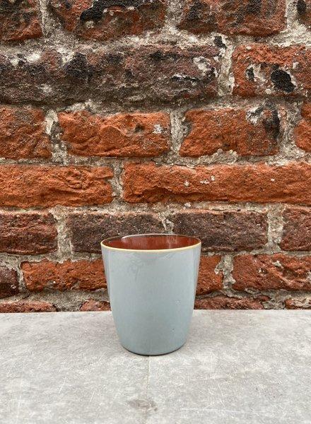 Serax Goblet Conic S 'Smokey Blue/Rust'