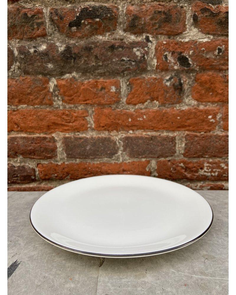 Asa ASA à Table Ligne Noir Dessert Plate