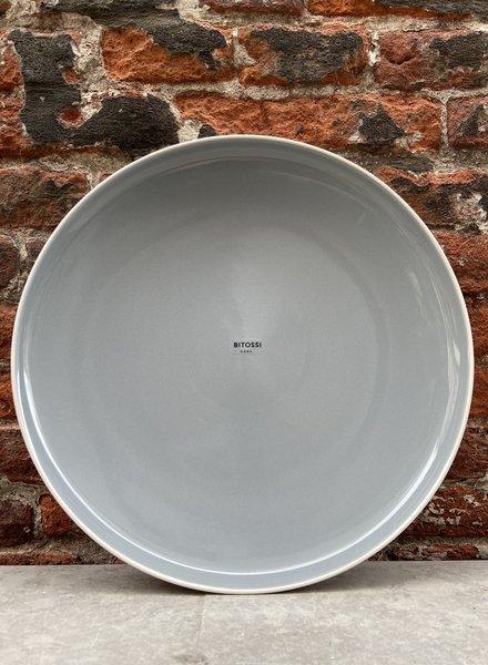 Bitossi Sorbetto Dinner Plate 'Stone'