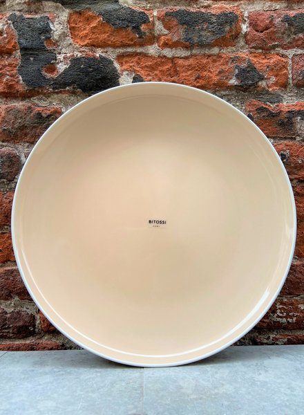Bitossi Sorbetto Dinner Plate 'Powder'