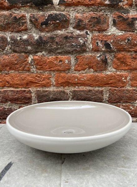 Bitossi Sorbetto Deep Plate 'Licorice'