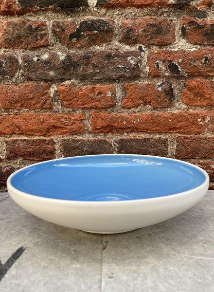 Bitossi Sorbetto Deep Plate 'Blueberry'
