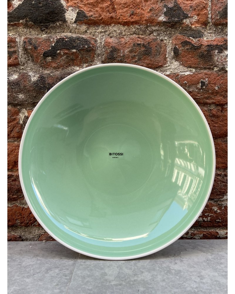 Bitossi Bitossi Sorbetto Deep Plate 'Mint'