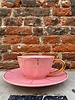 Bitossi Bitossi Funky Table Tea Cup With Saucer 'Pink Vintage'