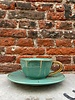 Bitossi Bitossi Funky Table Tea Cup With Saucer 'Green Vintage'