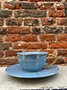 Bitossi Bitossi Funky Table Tea Cup With Saucer 'Sugar Paper Vintage'