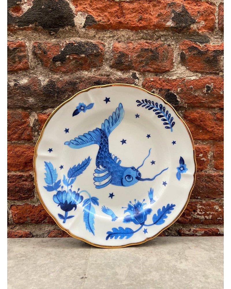 Bitossi Bitossi Funky Table Fruit Plate 'Blue Fish'