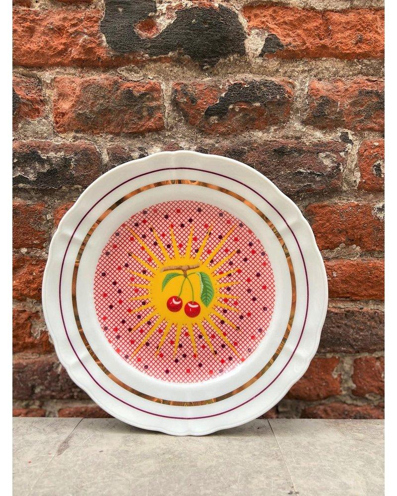 Bitossi Bitossi Bel Paese Fruit Plate 'Cherries'