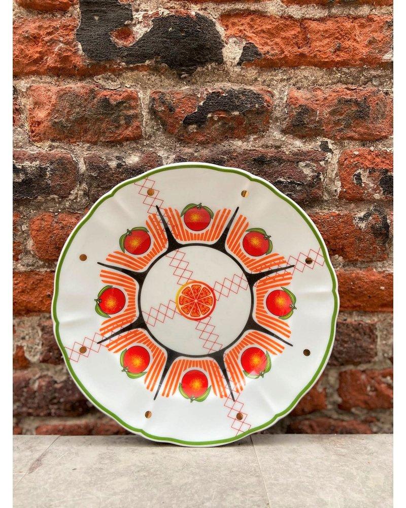 Bitossi Bitossi Bel Paese Fruit Plate 'Orange'