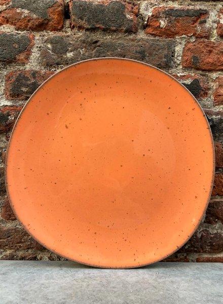 HK living Bold & Basic Ceramics: Dinner Plate 'Peach'