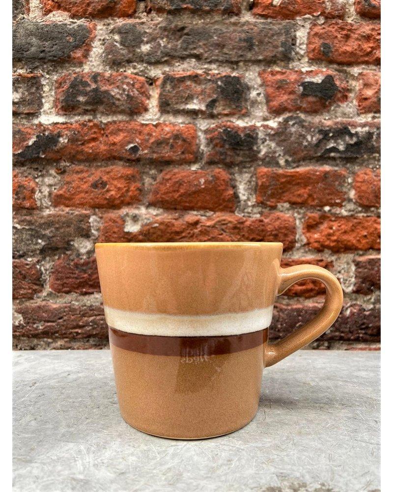 HK living HK living Ceramic 70's Cappuccino Mug  'Stream'
