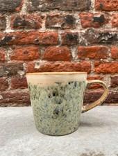 HK living Ceramic 70's Cappuccino Mug  'Hail'