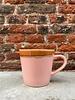 HK living HK living Ceramic 70's Cappuccino Mug  'Pink'
