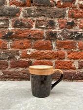 HK living Ceramic 70's Espresso Mug  'Lava'