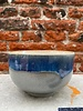 HK living HK living Ceramic 70's Noodle Bowl  'Ocean'