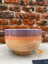 HK living Ceramic 70's Noodle Bowl  'Sunset'