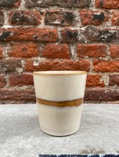 HK living Ceramic 70's Mug  'Snow'