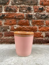 HK living Ceramic 70's Mug  'Pink'