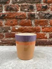 HK living Ceramic 70's Mug  'Sunset'