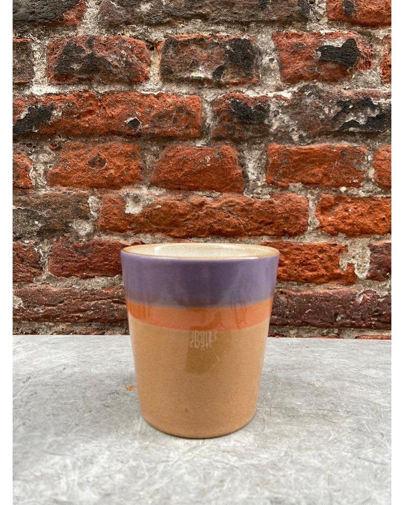 HK living HK living Ceramic 70's Mug  'Sunset'