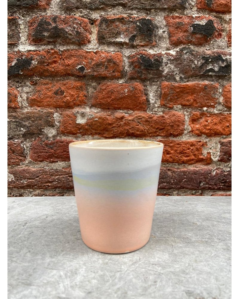 HK living HK living Ceramic 70's Mug  'Suites Special Peach'