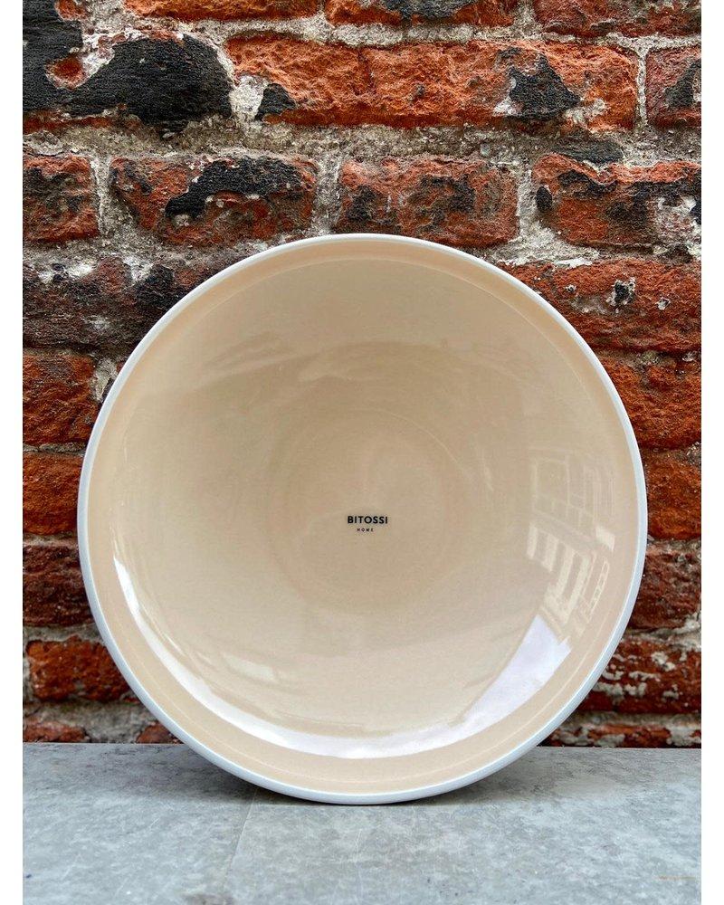 Bitossi Bitossi Sorbetto Deep Plate 'Powder'
