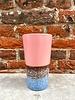 HK living HK living Ceramic 70's Latte Mug  'Pink'