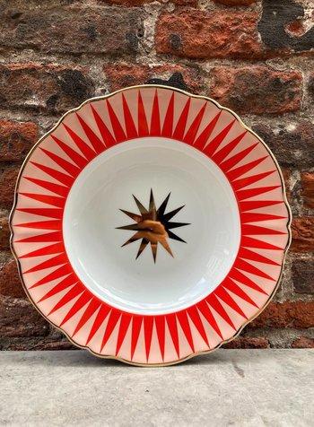 Bitossi Abracadabra Deep Plate 'Baleno'