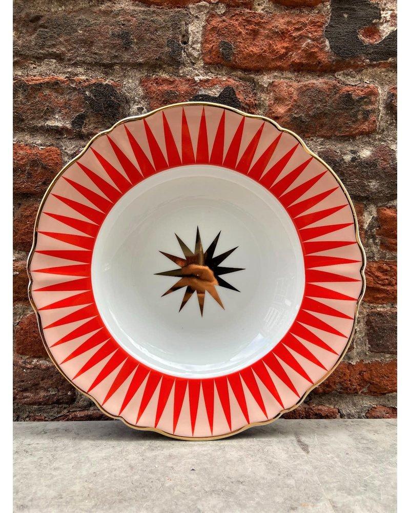 Bitossi Bitossi Abracadabra Deep Plate 'Baleno'