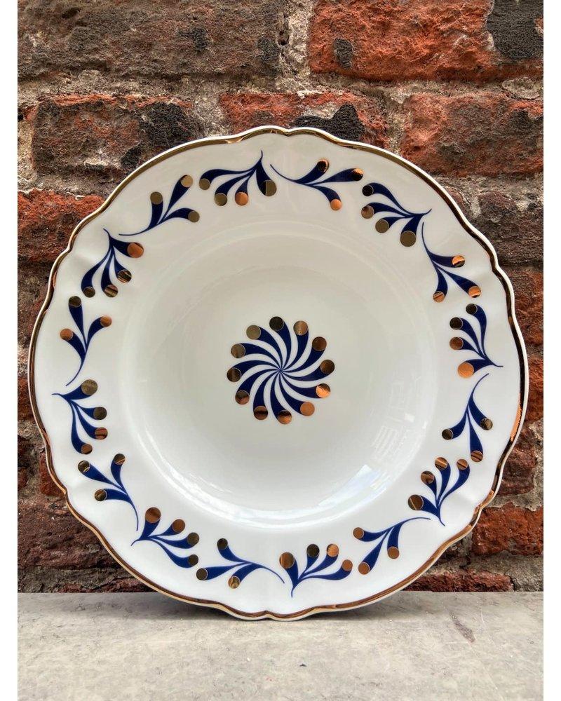 Bitossi Bitossi Abracadabra Deep Plate 'Marino'