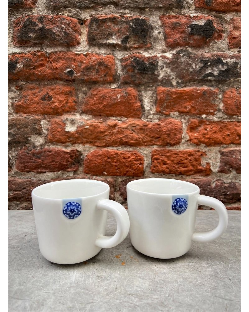 Royal Delft Royal Delft Blue D1653 Touch of Blue Mug S (Set of 2)