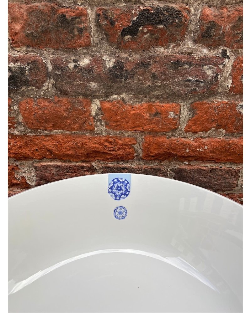 Royal Delft Royal Delft Blue D1653 Touch of Blue Plate Oval