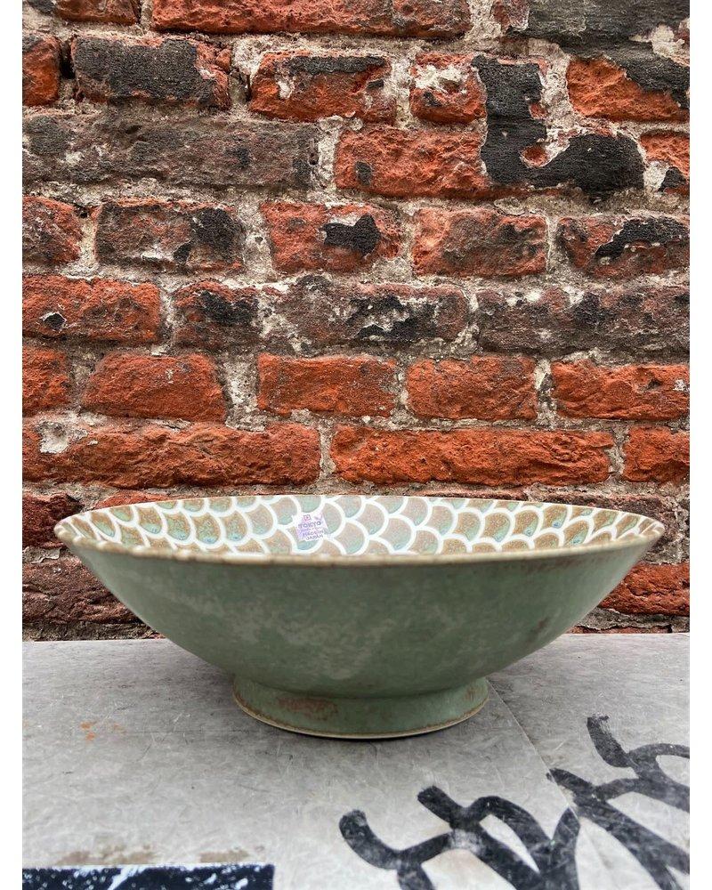 Tokyo Design Tokyo Design Mermaid Bowl 'Vert Sauge'