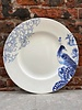 Royal Delft Royal Delft Peacock Symphony Dinner Plate