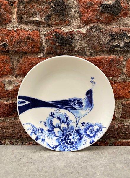 Royal Delft Peacock Symphony Cake Plate