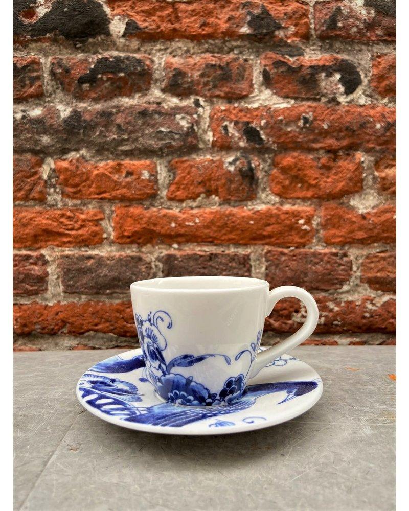 Royal Delft Royal Delft Peacock Symphony Espresso Cup & Saucer