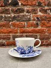Royal Delft Peacock Symphony Tea/Cappuccino Cup & Saucer