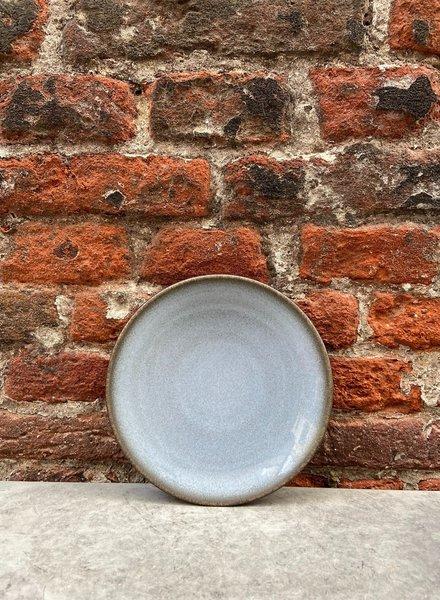 Jars Céramistes Tourron Bread Plate 'Ecorce'